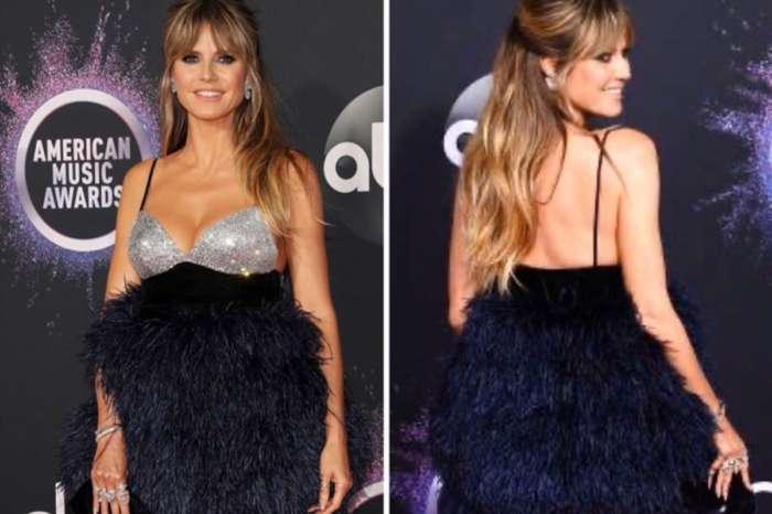 Heidi Klum Wows In Monsoori And Steve Madden Malibu Pumps At American Music Awards