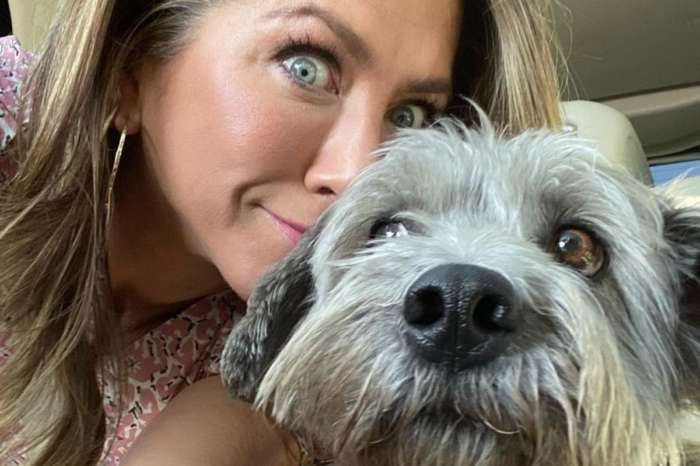 Jennifer Aniston Shares Sweet Pic With Dog Clyde