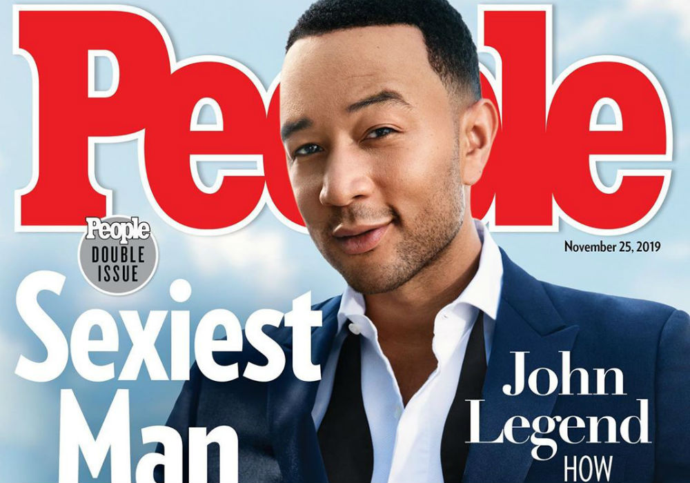 John Legend Is Named This Year's 'Sexiest Man Alive' And Chrissy Teigen's Response Is Fantastic