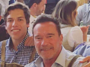 Joseph Baena Admits Dad Arnold Schwarzenegger Motivated His Fitness Journey