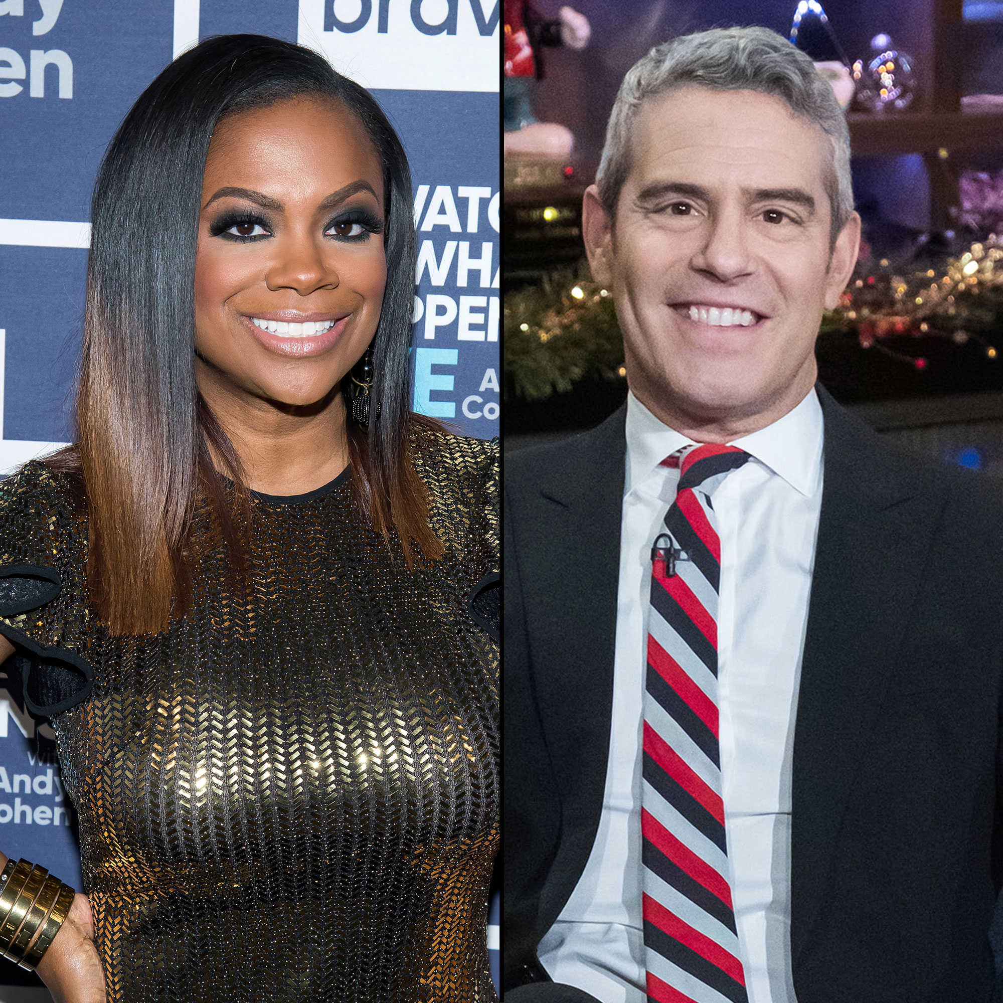 Kandi Burruss Sat Down With Andy Cohen For An Exclusive Interview