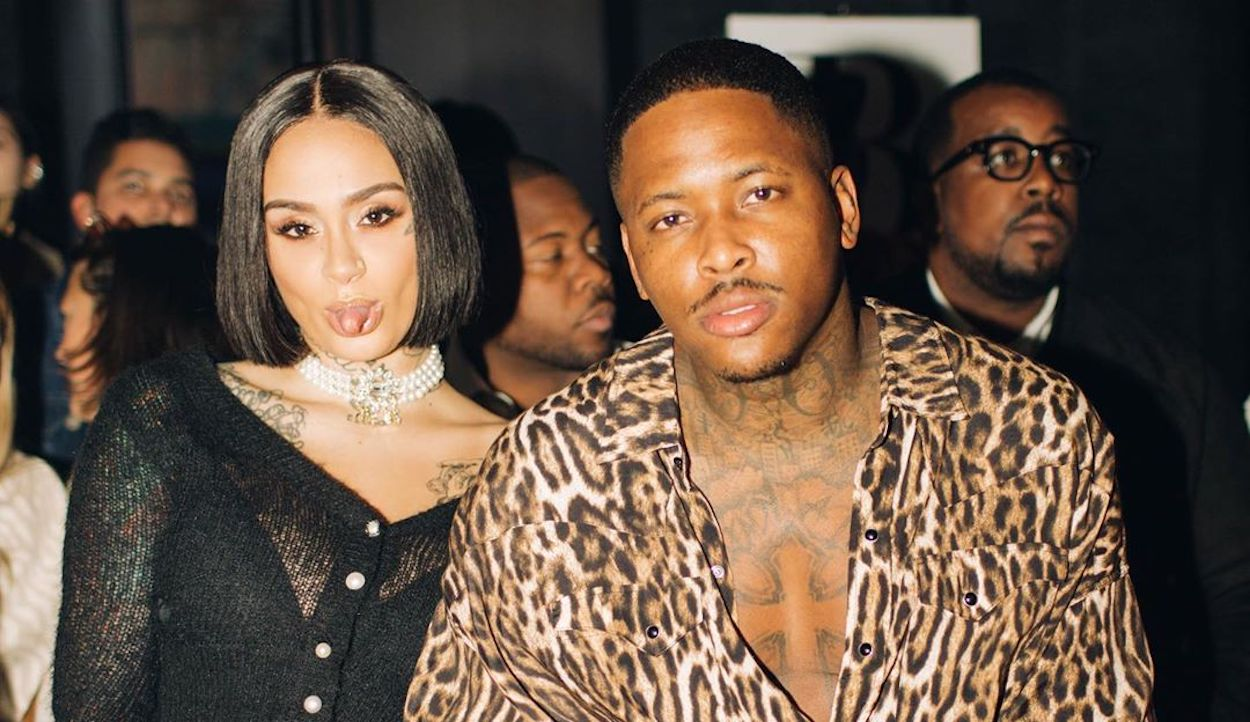 YG Denies Kissing Random Chick, Still Going Strong with Kehlani