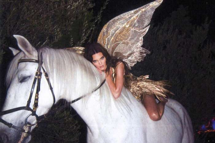 Kendall Jenner Posed On Her Knees On A Horse For Halloween And The Internet Isn't Happy About It