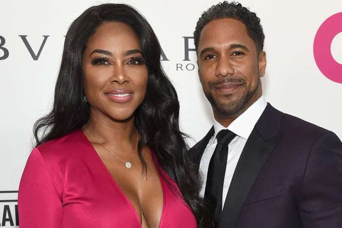 Kenya Moore And Marc Daly Reunite At Daughter Brooklyn's First Birthday Party - Check Out The Sweet Family Pic!