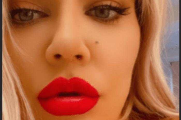 Khloe Kardashian Slammed Again As Her Lips Appear Enormous In New Photos