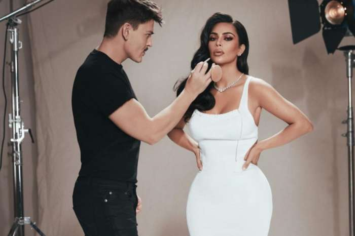 Kim Kardashian Shows Off Her Killer Curves Wearing Alaia In New KKW X Mario Beauty Campaign