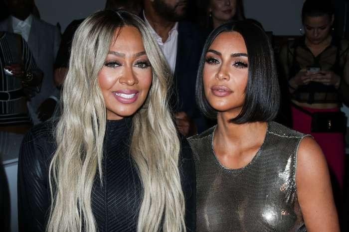 KUWK: Kim Kardashian Gushes Over BFF La La Anthony's Rap Debut After Amazing Surprise Performance At The AMAs