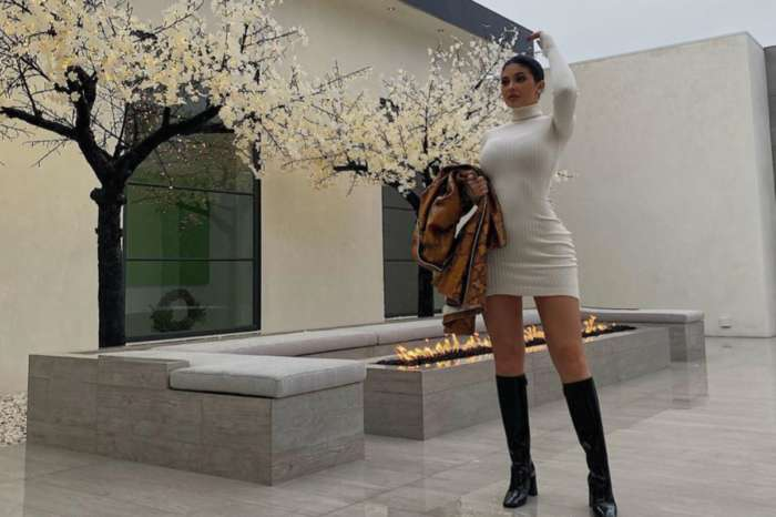 Kylie Jenner Wears White Mini Dress And Flaunts Fabulous Curves In Thanksgiving Photos At Kris Jenner's House