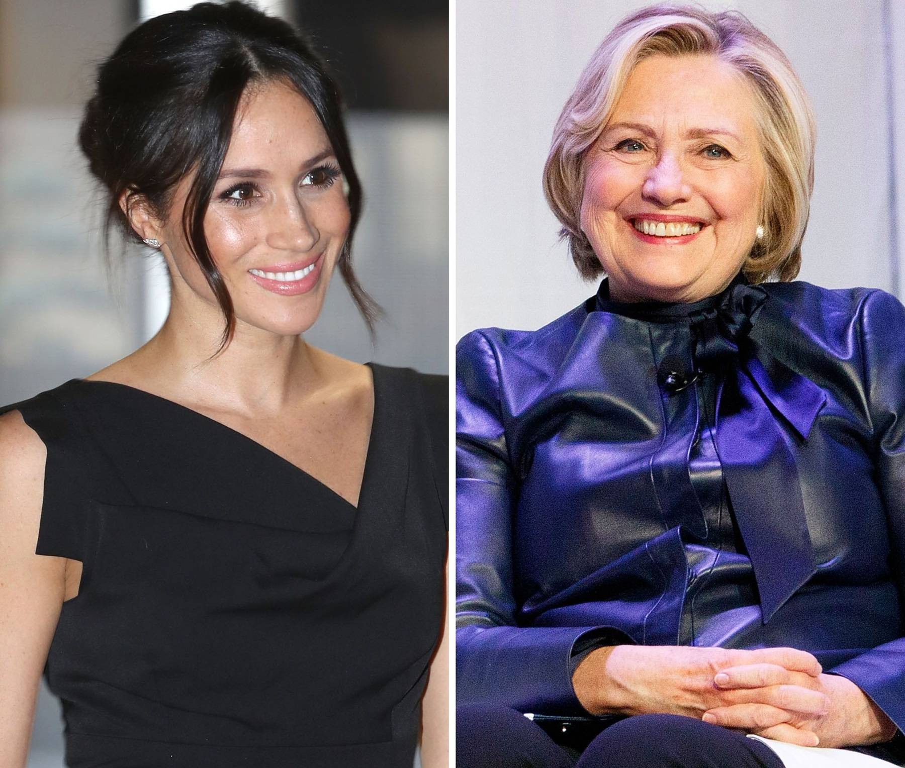 Meghan Markle Hillary Clinton Run For President