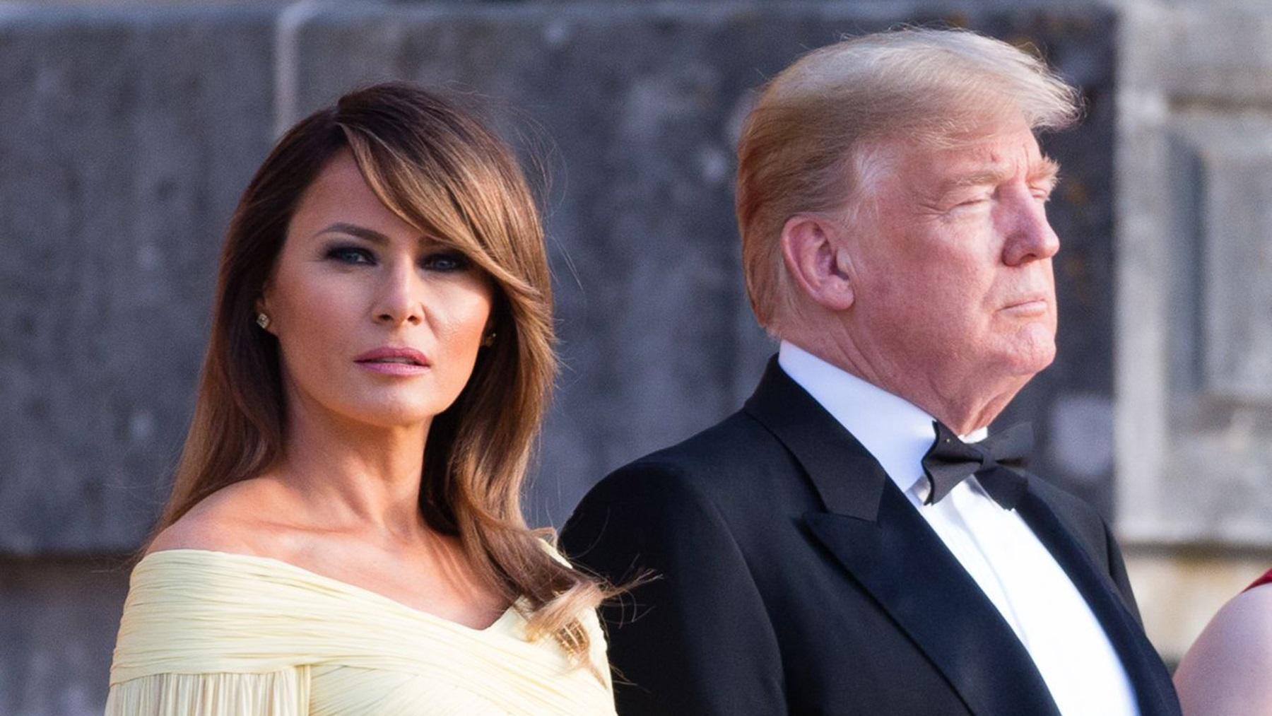 Melania Trump Donald Walter Reed