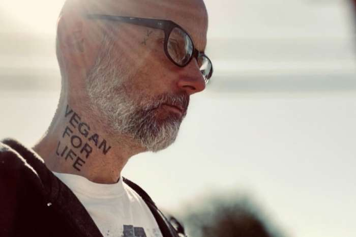 Moby Sports New Ink For Animal Rights — Vegan Shows Off Neck And Arm Tattoos