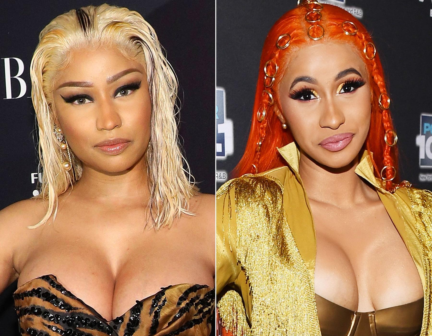 Nicki Minaj Cardi B Feud