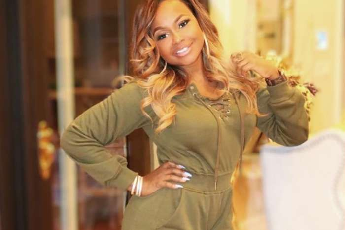 Phaedra Parks Wears Sheer Outfit And Looks Like She Will Discipline Naughty Men In New Photo -- Her Killer Abs Impress Real Housewives of Atlanta Fans