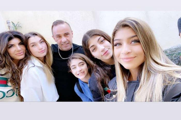 RHONJ - Joe Giudice Reunites With Teresa And His Daughters In Italy