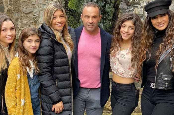 RHONJ- Teresa Giudice & Her Daughters Leave Italy After Visiting Joe