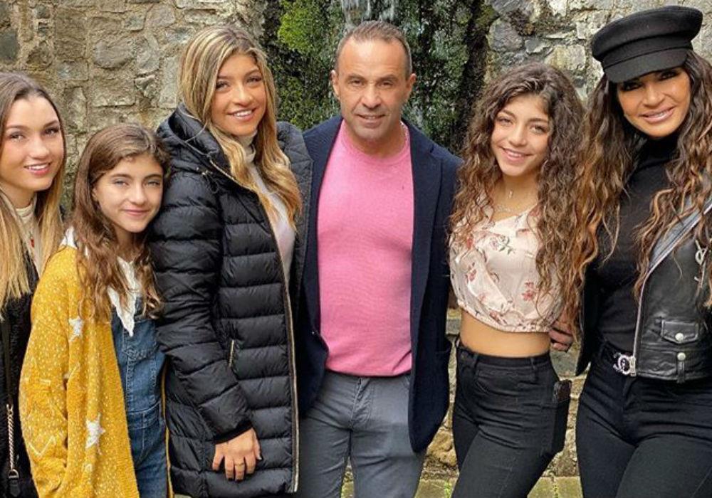 RHONJ- Teresa Giudice & Her Daughters Leave Italy After Visiting Joe