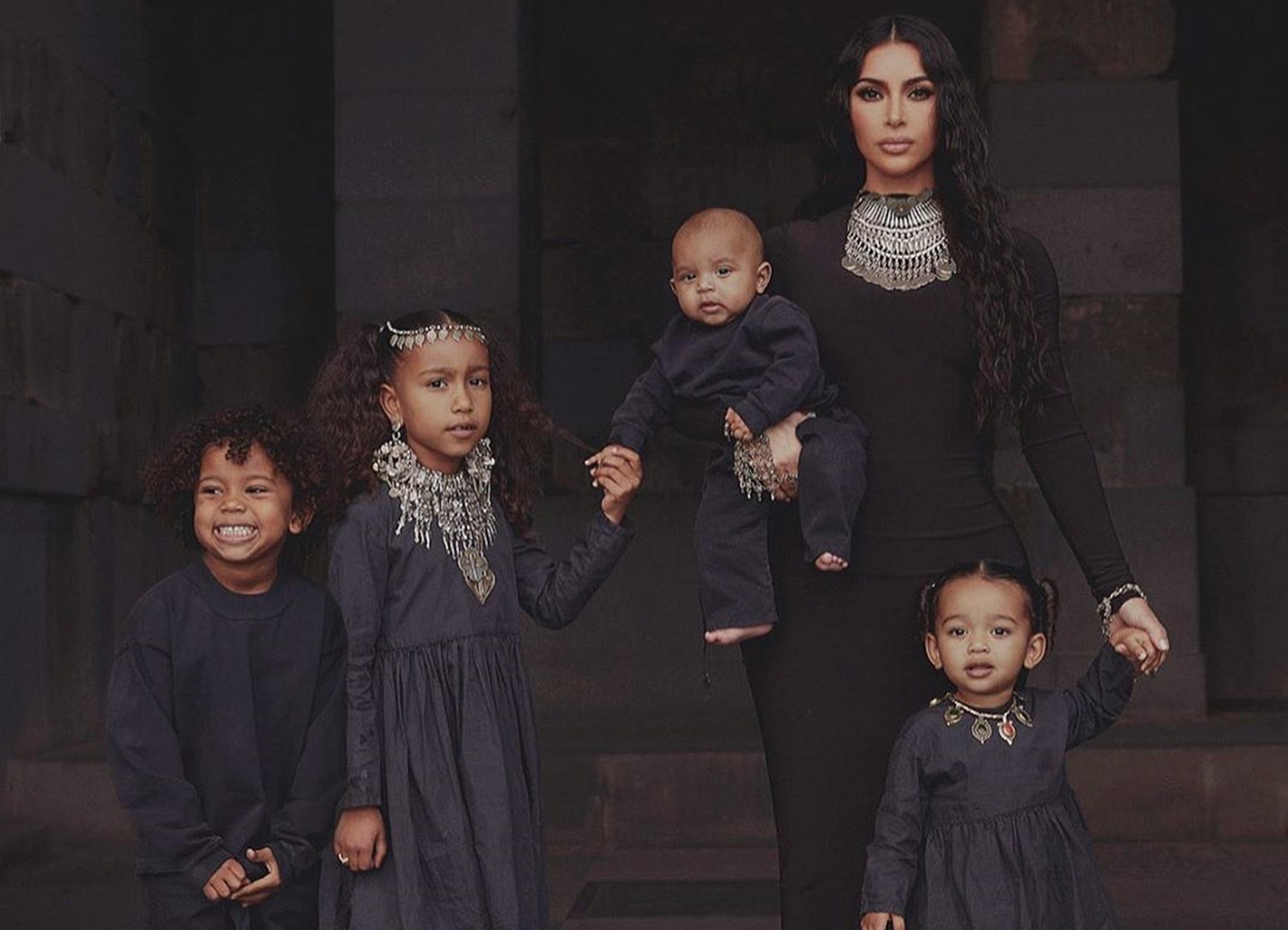 Saint West North Psalm Kim Kardashian Chicago