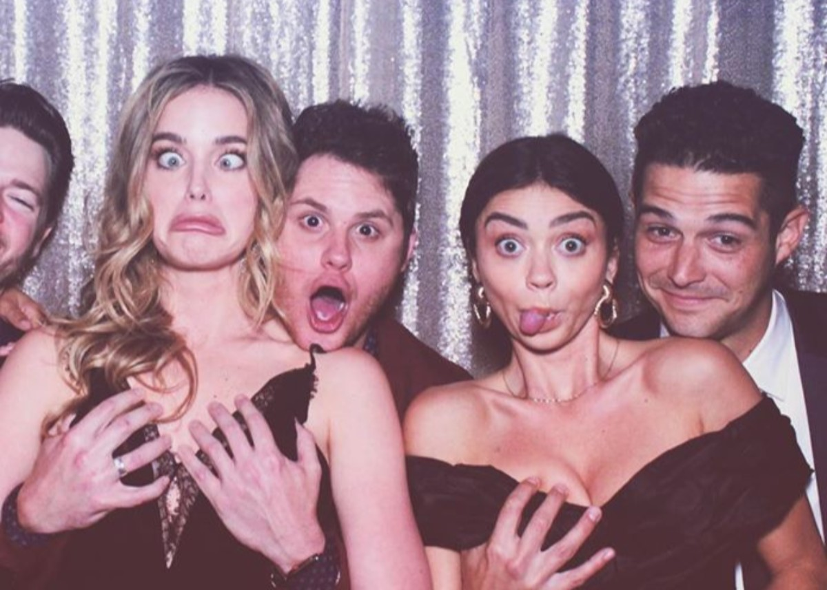 """""""sarah-hyland-shares-photo-with-fiance-wells-adams-and-sparks-metoo-outrage-are-people-freaking-out-over-nothing"""""""