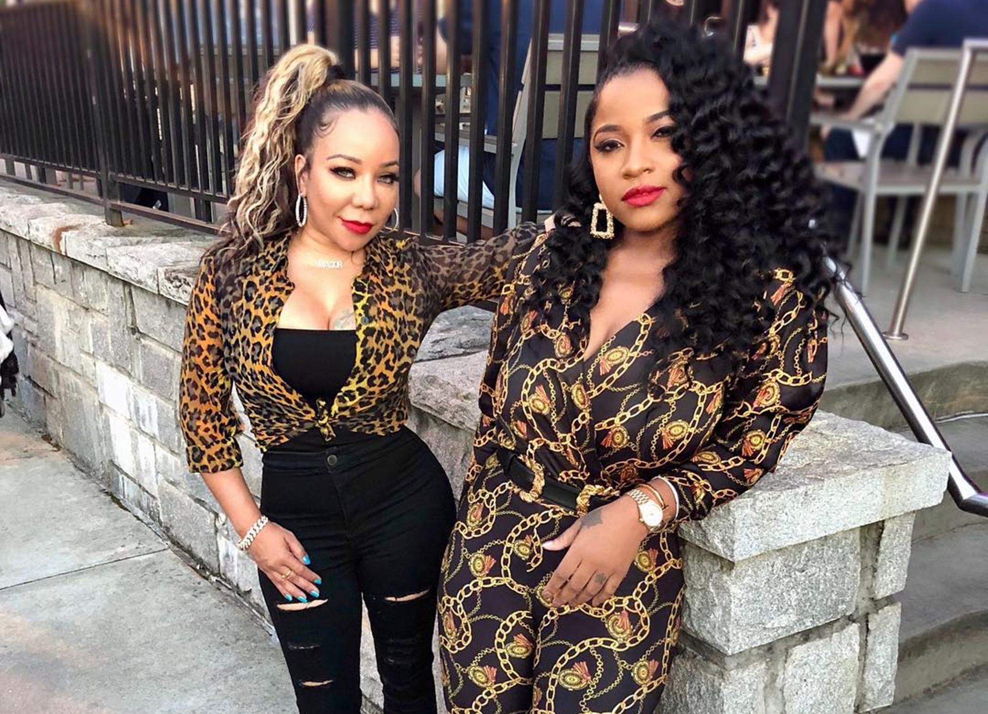 Toya Wright Is Living Her Best Life In Mexico With Family And BFF, Tiny Harris