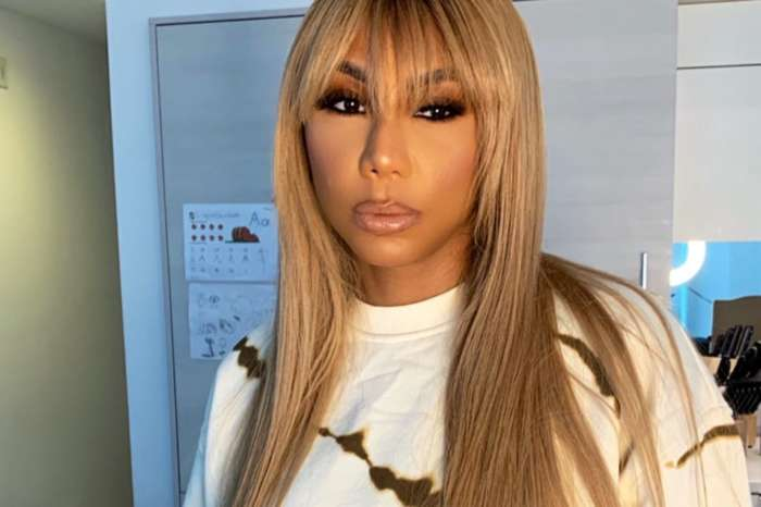 Tamar Braxton Twerks In Front Of The Camera And People Understand Why David Adefeso Is So In Love With Her