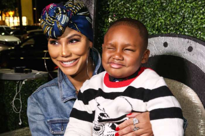 Tamar Braxton And Her Boyfriend David Adefeso Are Attacked By Parent Shamers For This Video Of Logan Herbert