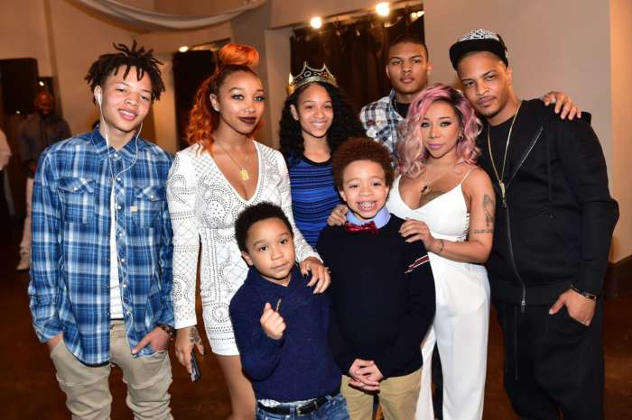 Tiny Harris Gushed Over Zonnique Pullins And King Harris Who Were In Concert Together