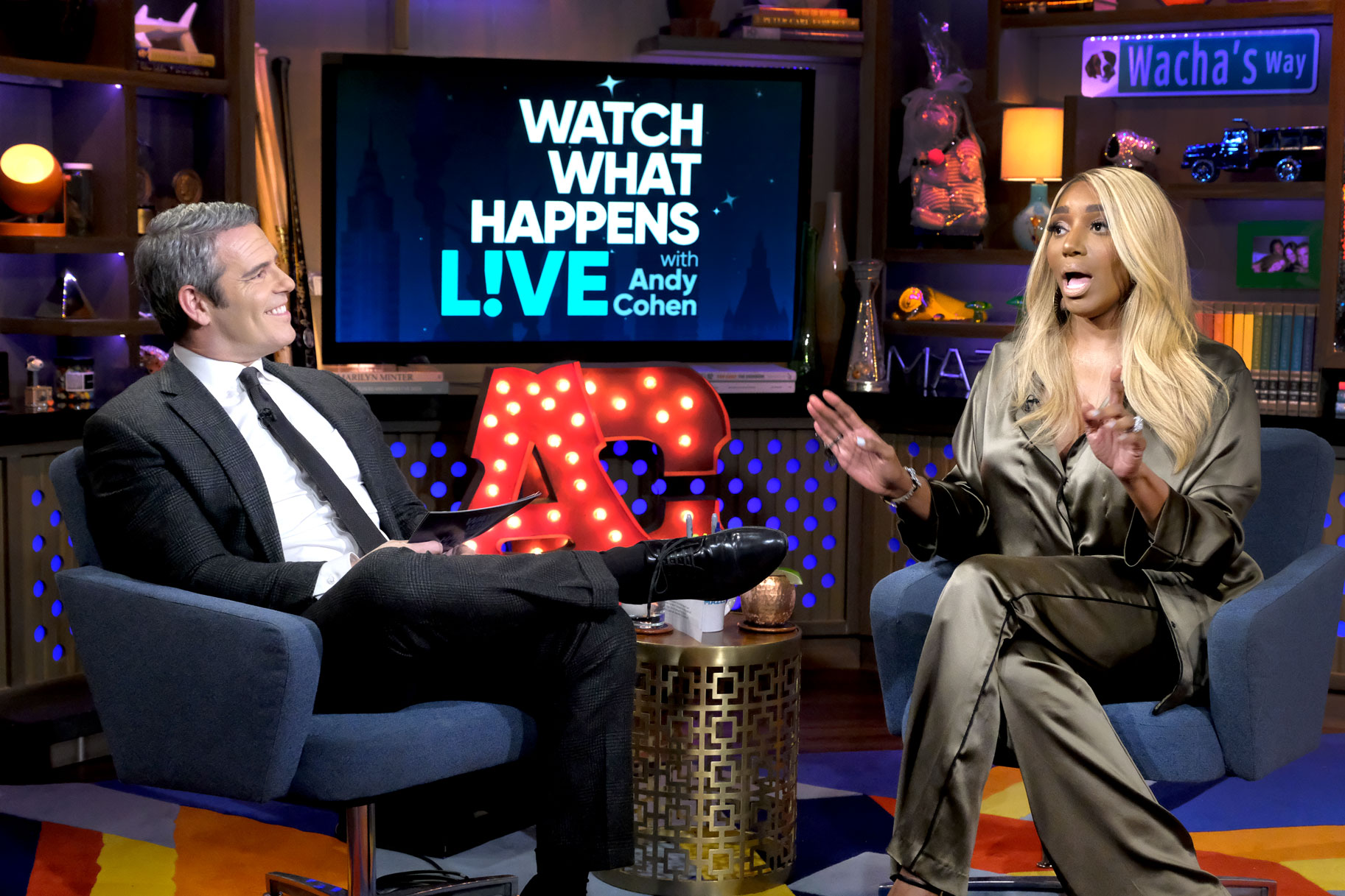NeNe Leakes Has A Lot Of Fun On 'Watch What Happens Live' With Andy Cohen - See Her Pics