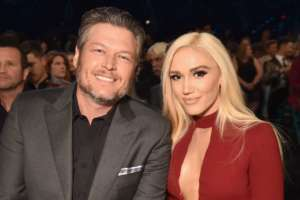 Gwen Stefani Addresses The Rumors Blake Shelton Has Proposed After She Rocks Gorgeous Diamond Ring On The PCA Red Carpet!
