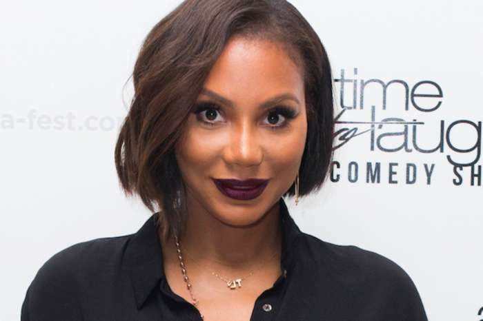 Tamar Braxton's BF, David Adefeso, Spent A Horror Night At Universal With Her And  'Beans' AKA Logan Herbert - See The Video
