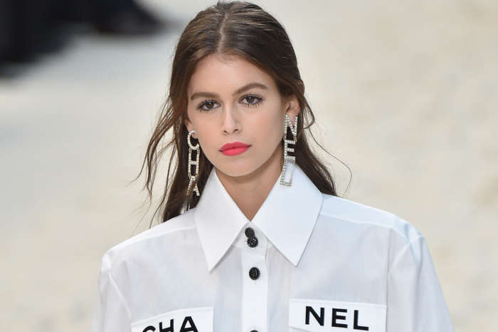 Kaia Gerber Stuns In Bathing Suit At The Pool - Check Out The Pic!