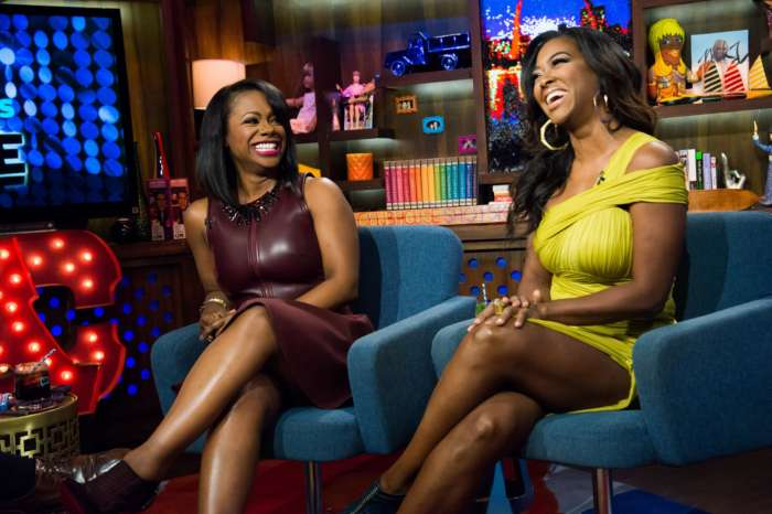 Kandi Burruss Gushes Over Kenya Moore's Baby Brooklyn Daly For Her Birthday