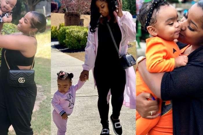 Toya Wright's Latest Photo With Reign Rushing Has Fans In Awe