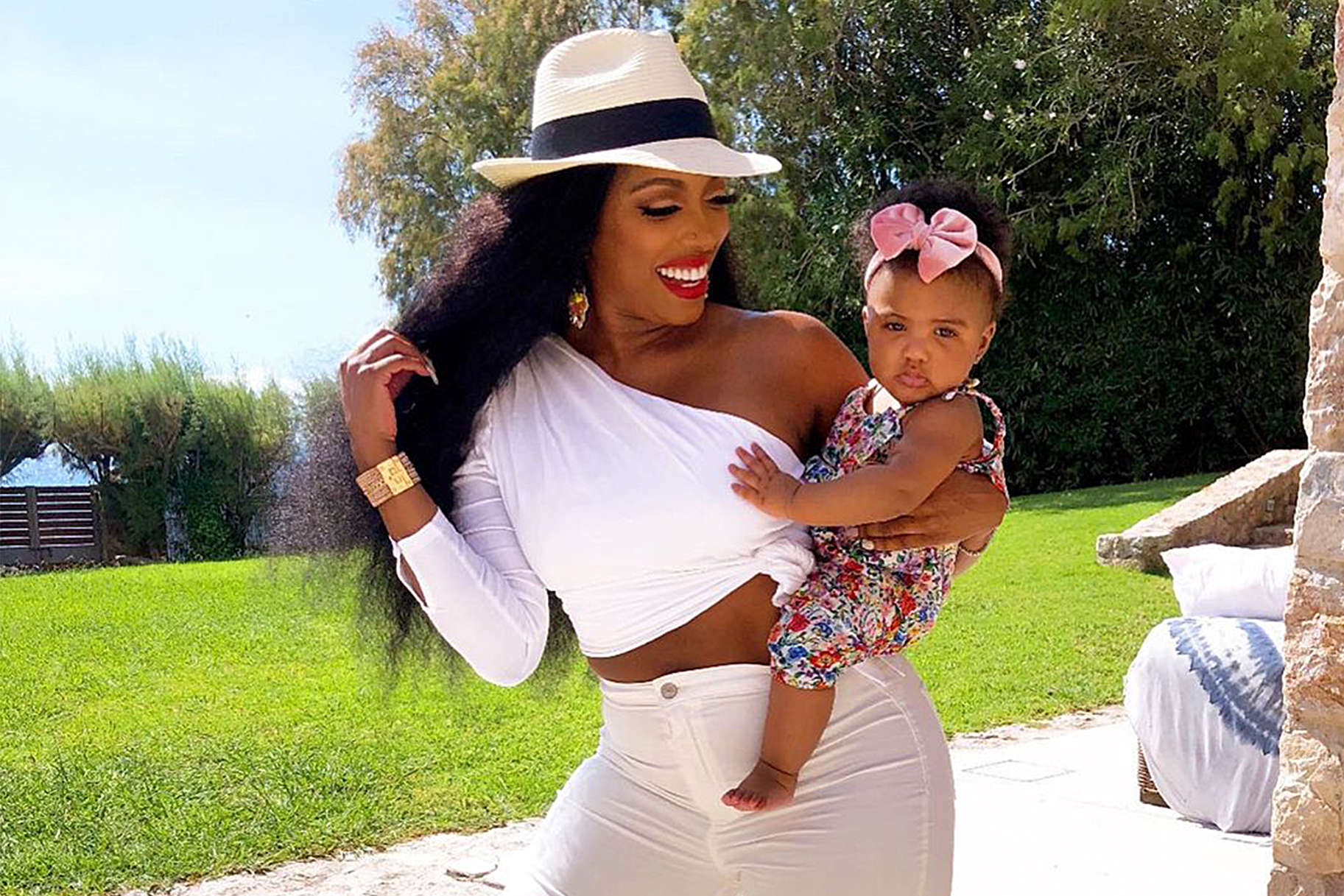 Porsha Williams' Baby Girl Pilar Jhena Is Already Trying To Stand On Her Own - Watch The Sweet Clips