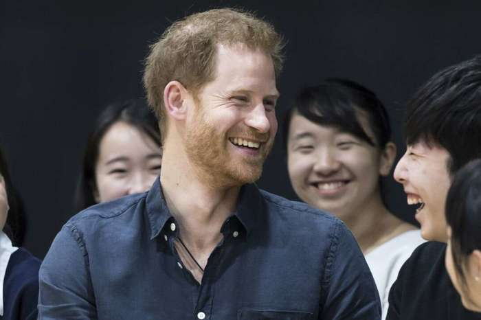 Prince Harry Has The Best Answer After Being Called Handsome By A Student!