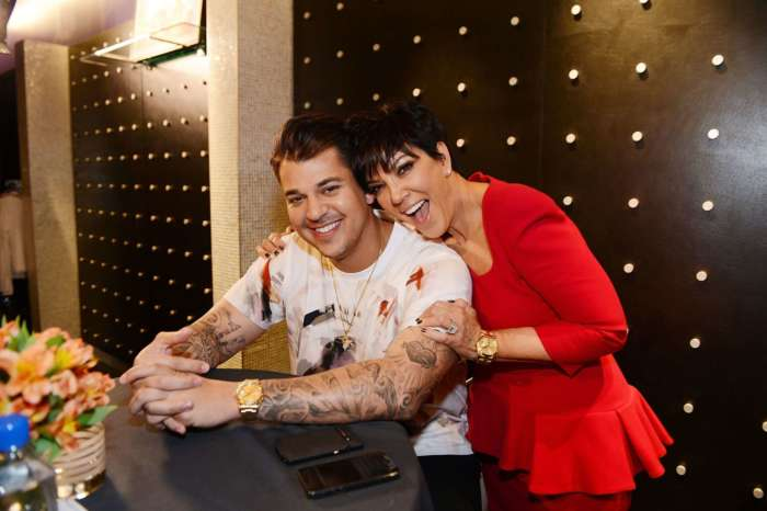 Rob Kardashian Shares A Photo With Kris Jenner For Halloween And Shocks Fans With Huge Weight Loss
