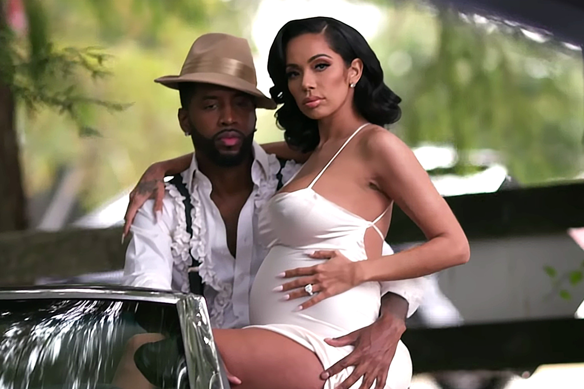 Erica Mena Has Fans In Awe With Her Latest Photo With Safaree In Bed