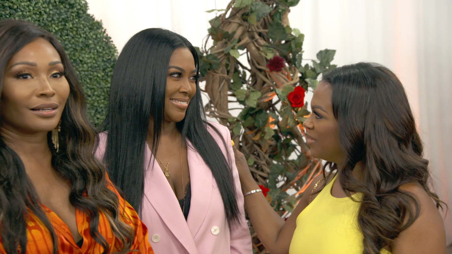 Kenya Moore Addresses Accusations That She Ruined Cynthia Bailey's Engagement