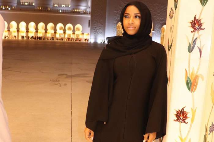 Toya Wright Is Enjoying The Dubai Miracle Garden With Her Sister And Daughter