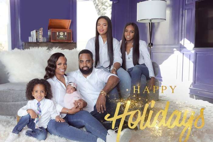 Kandi Burruss And Todd Tucker Let Their Children -- Kaela, Riley, Ace, And Baby Blaze -- Shine And Bring Cheers In Christmas Photos