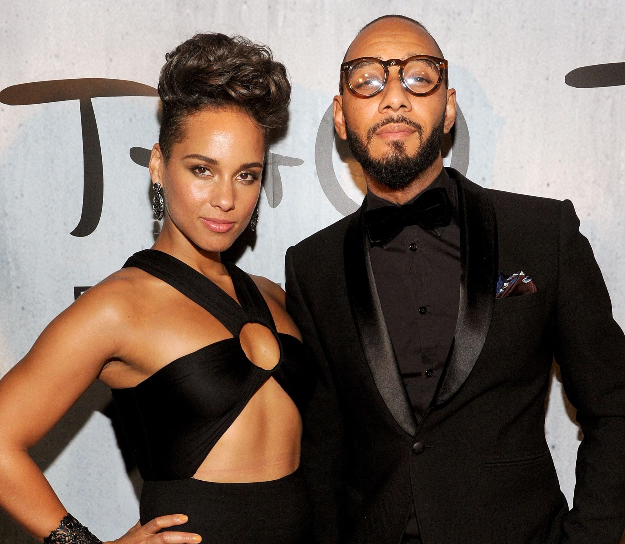 Alicia Keys Swizz Beatz Nicole Jahna Sebastian