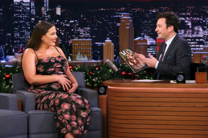 Ashley Graham Redefines Maternity Wear Again In House Of CB On The Tonight Show Starring Jimmy Fallon