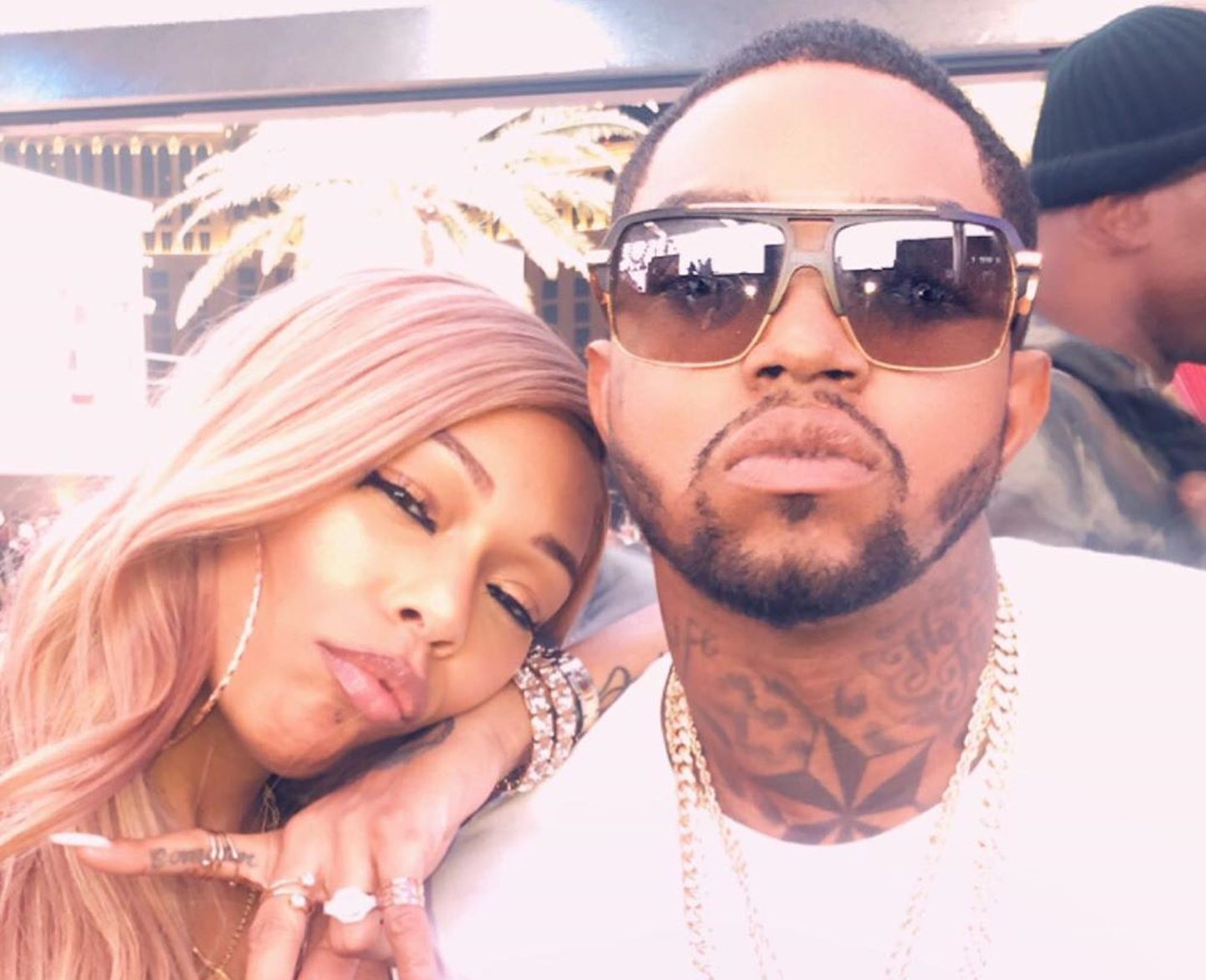 """""""lil-scrappy-shares-adorable-family-photos-with-wife-bambi-benson-and-his-two-children-emani-and-breland-richardson-momma-dee-reacts-with-praises-for-her-daughter-in-law"""""""