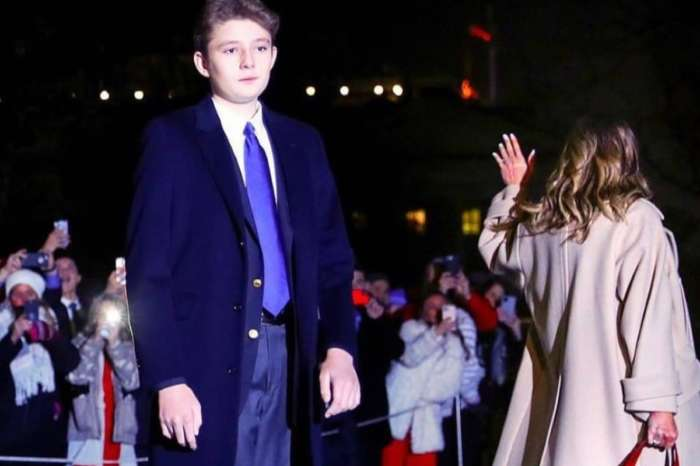Barron Trump, Thirteen, Towers Over His Parents Donald And Melania Trump And The Internet Is Shook