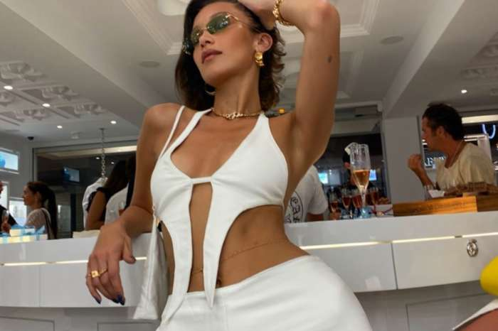 Bella Hadid Frolicks In Skimpy Bathing Suit In St. Barts For Launch Of New Chrome Hearts Store