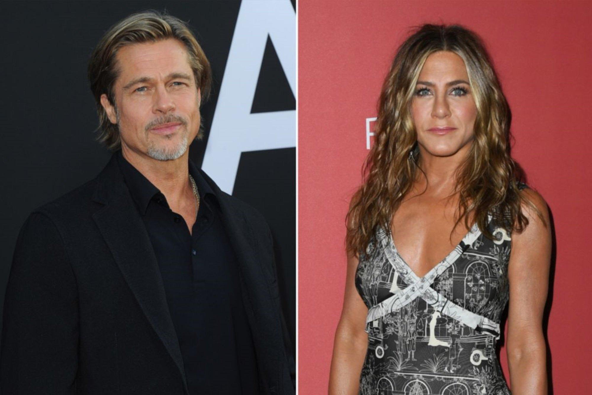 Brad Pitt Jennifer Aniston Golden Globes