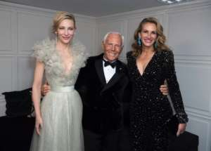 Julia Roberts, Cate Blanchett And More Honor Giorgio Armani Recipient Of Outstanding Achievement British Fashion Award