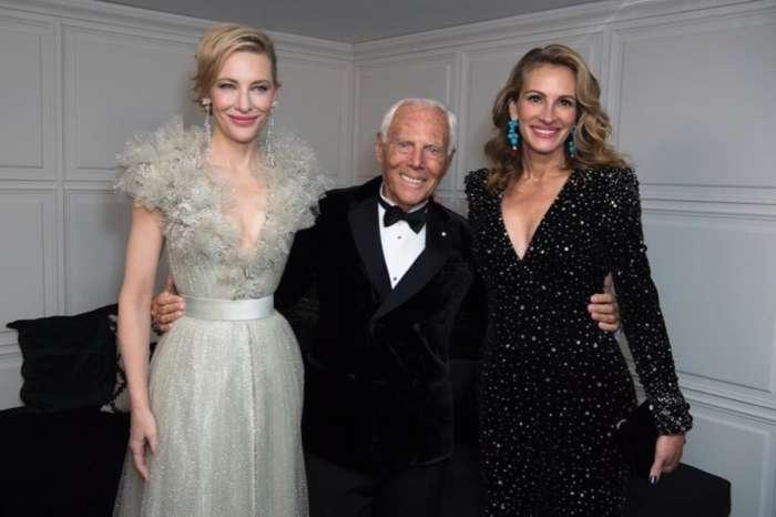 Julia Roberts, Cate Blanchett And More Honor Giorgio Armani Recipient Of Outstanding Achievement British Fashion Award