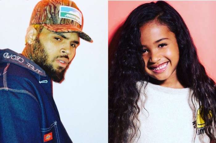 Chris Brown Gifts Daughter Royalty A Huge Stack Of Money On Christmas - Check Out The Cute Video!