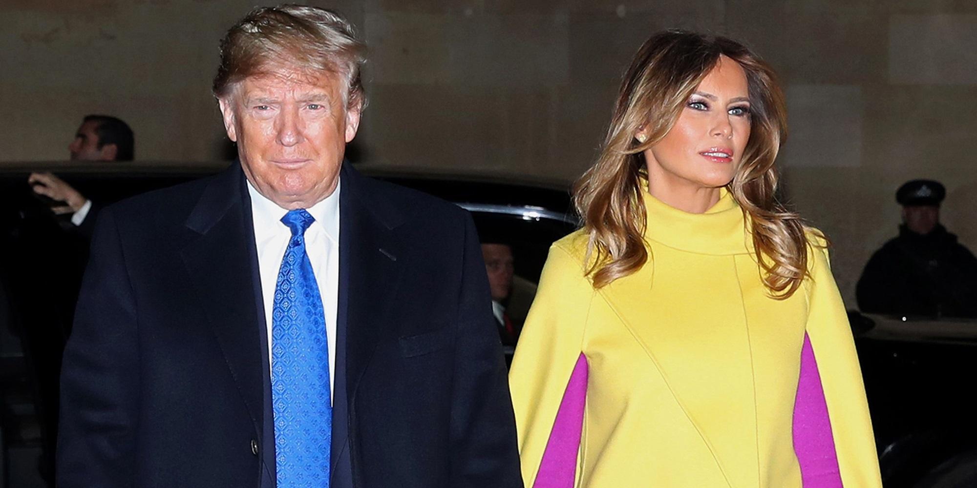 Donald Trump Melania Barron Pamela Karlan Joke