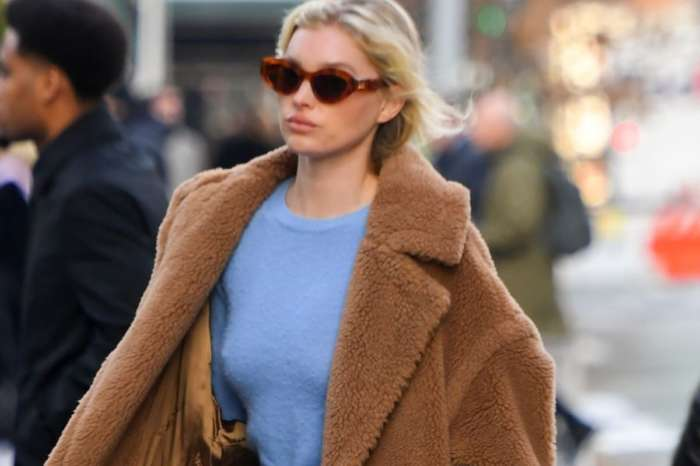 Spotted! Celine Dion, Katie Holmes, And Elsa Hosk In Max Mara Teddy Bear Coat